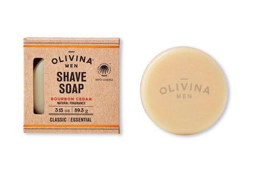 Classic Shave Soap - Bourbon Cedar 3.15oz