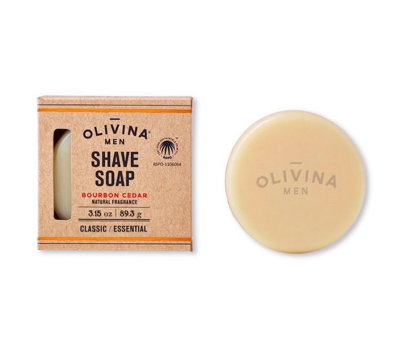 Classic Shave Soap Bourbon Cedar 3.15 oz