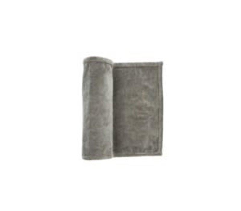 Stonewashed Velvet Runner charcoal