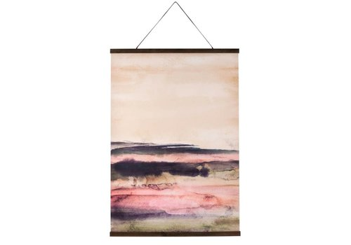 Painted Plains Wall Hanging