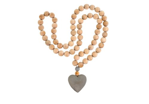 Heart Prayer Beads L