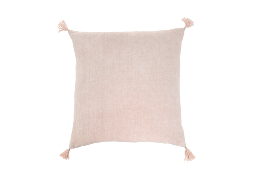 Nori Linen Cushion 20 x 20 pink