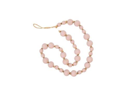 Wooden Prayer Beads Blush