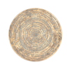 "Rios Gold Medallion 16"" Wall Decor Platter"