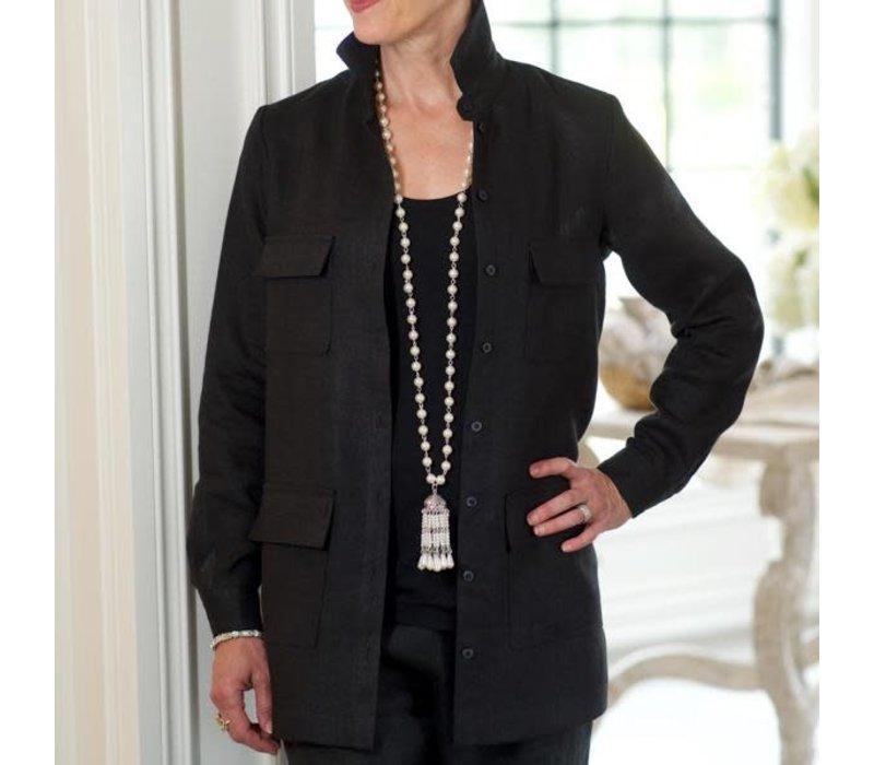 Annie Linen Jacket