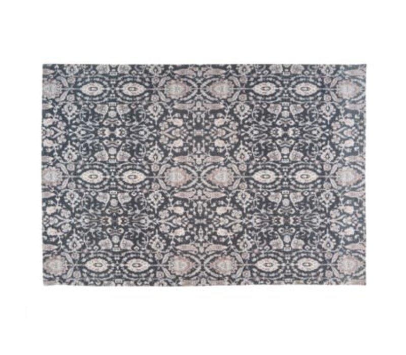 Turkish Carpet 4x6, Black