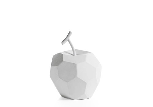 Carved Apple White