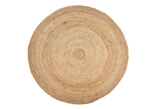 Jute Roundie, Natural Black