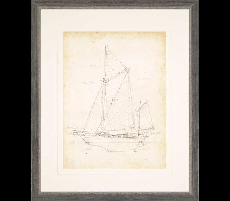 Sailboat Blueprint V