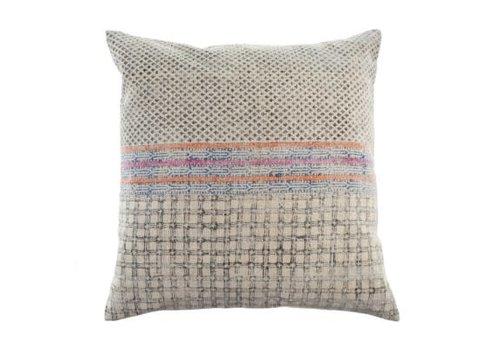Stonewashed Woven Cushion 24 x 24 (9527)