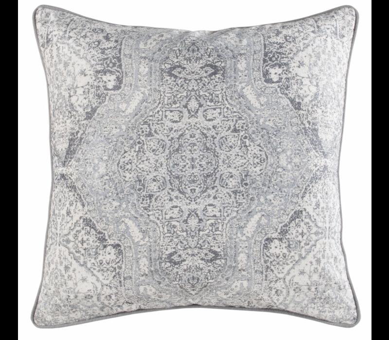 """VC Luri Gray Pillow 22x22"""""""
