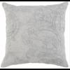 """BT Laurel Gray Pillow 22x22"""""""