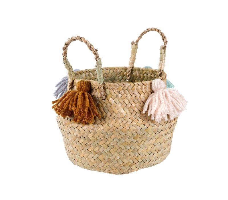 Baby Belly Basket Tassel