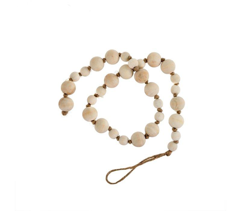 Wooden Prayer Beads Natural