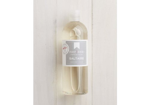 Saltaire Glass Hand Soap 8 oz