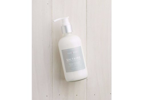 Saltaire Glass Shea Lotion 8 oz