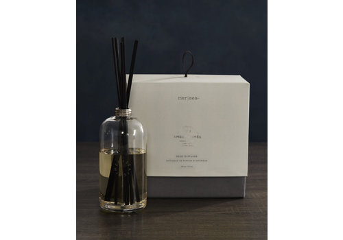Luxe Glass Scent Diffuser - Amber Fumee