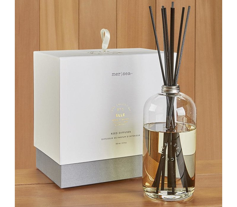 Luxe Glass Scent Diffuser Elle