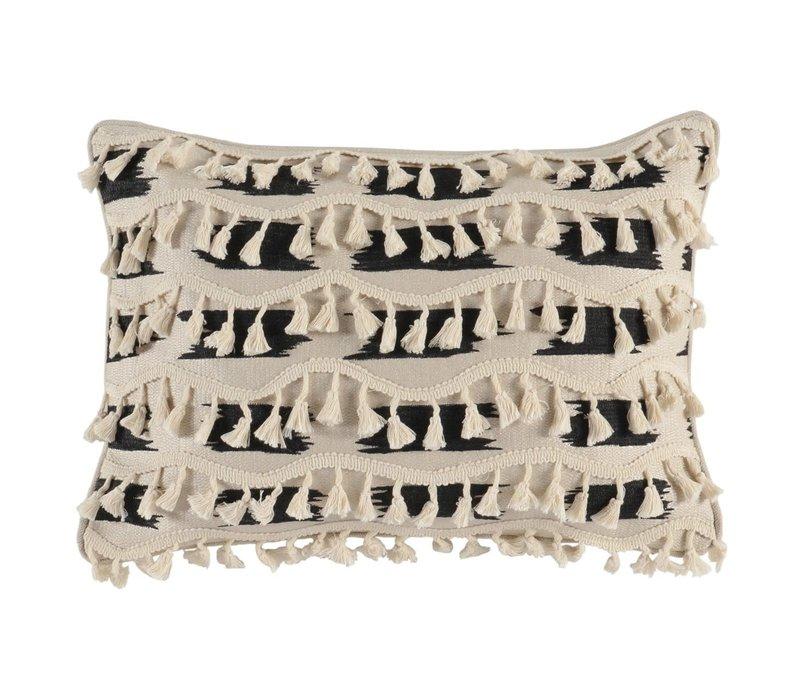 Roset Wool/Onyx Pillow 14 x 20