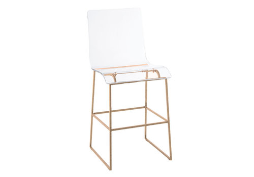 King Counter Stool - Gold