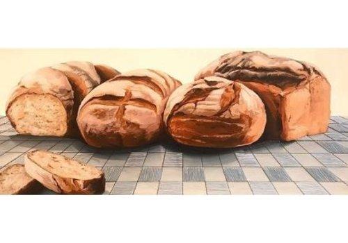 Local Calgary Artist Mckenna Prather Warm Bread 12x29