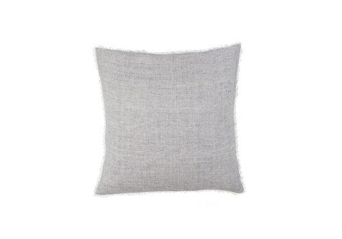 24x24 Lina Linen Pillow, Stripe