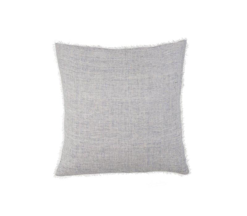 """Lina Linen Pillow Stripe 24X24"""""""