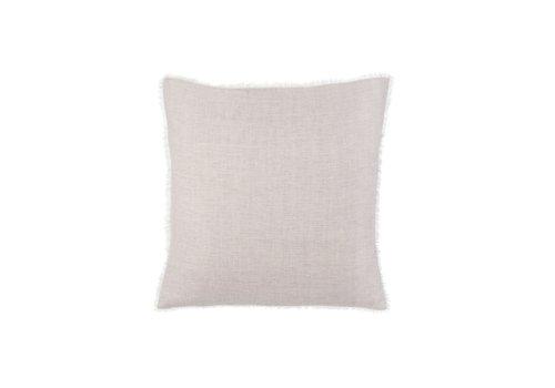 Skye Linen Pillow, Grey