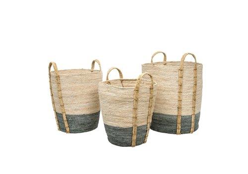 Shore Storage Baskets - L - Grey