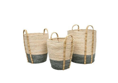 Shore Storage Baskets Grey Medium