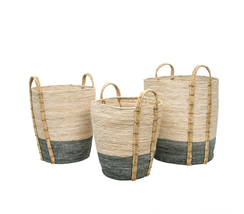 Shore Storage Baskets Grey Medium