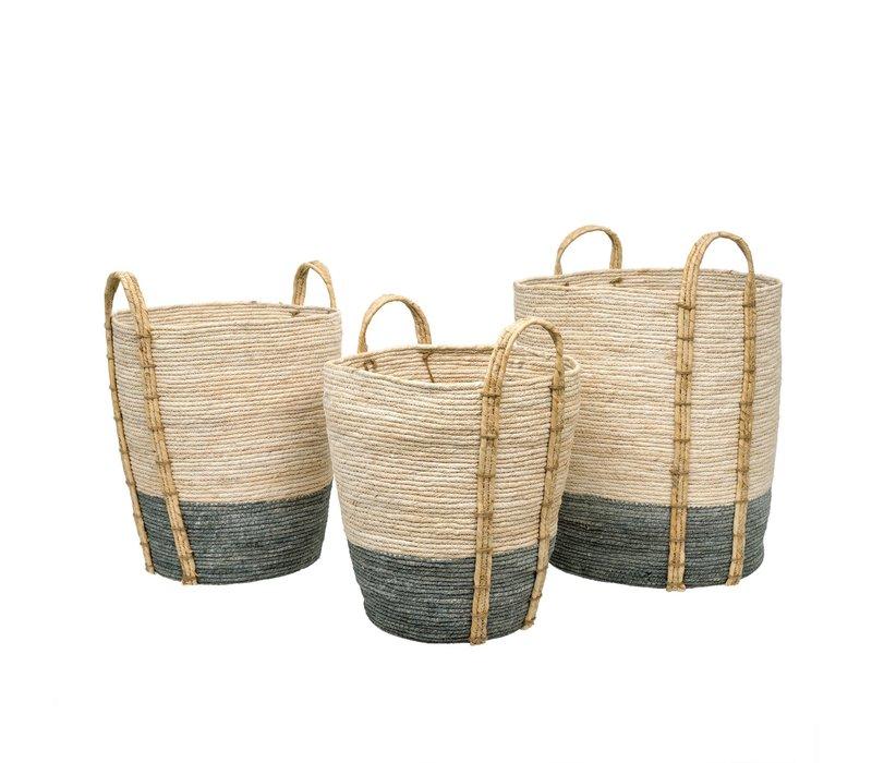 Shore Storage Baskets Grey Small