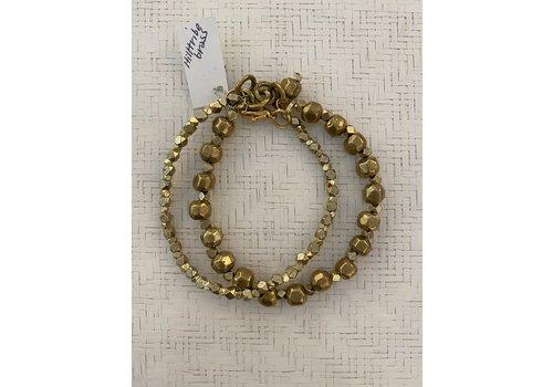 Hilltribe Brass Bracelet Thailand