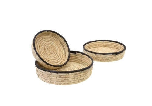 Date Leaf Basket Tray Small