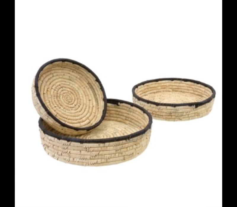 Date Leaf Basket Tray Small