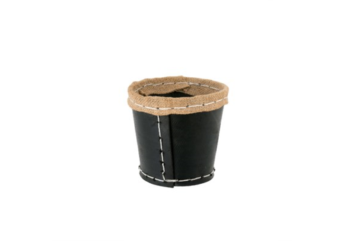 Recycled Rubber Pot, S