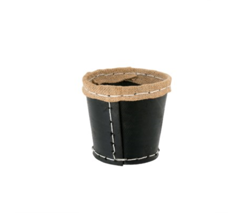 Recycled Rubber Pot Small