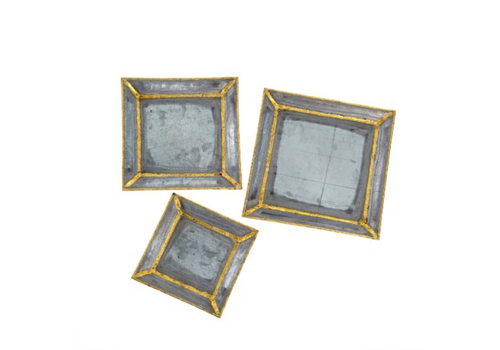 Brass Accent Trays - S