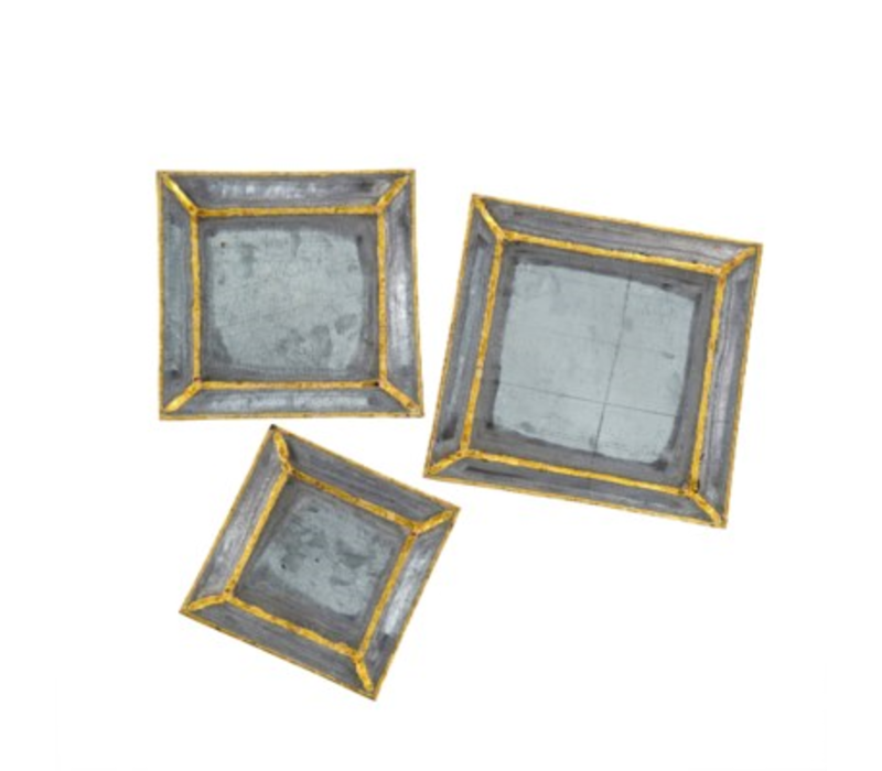 Brass Accent Trays Small