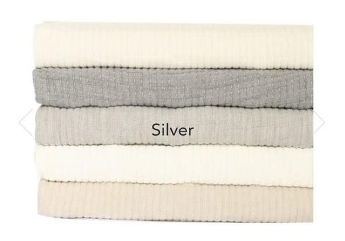 Brayden Queen Coverlet Silver