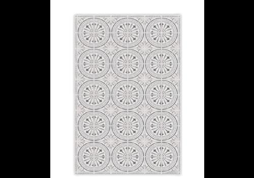 "Vinyl Floor Mat  HIB35260 19.5x32.7"""