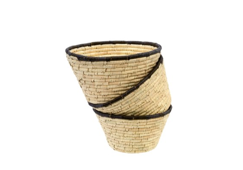Date Leaf Basket Bowl Medium