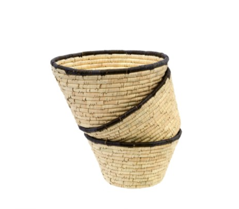 Date Leaf Basket Bowl Medium