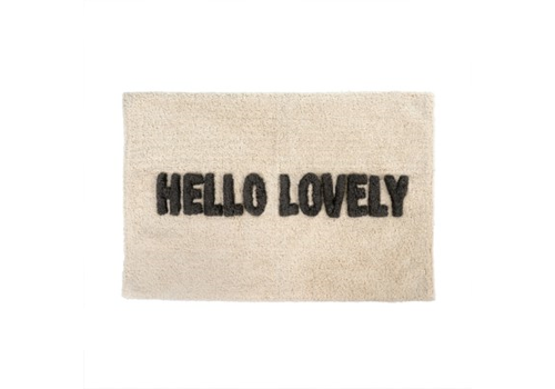 Hello Lovely Bath Mat 30x20""
