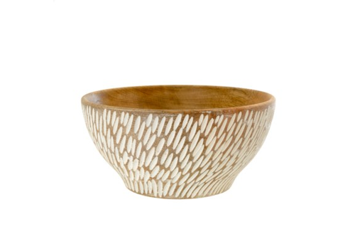 Semilla Wooden Bowl L