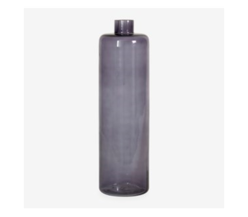 Glass Vase Amethyst 13.5""