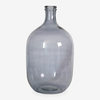 Oval Glass Vessel Smoke 19.5
