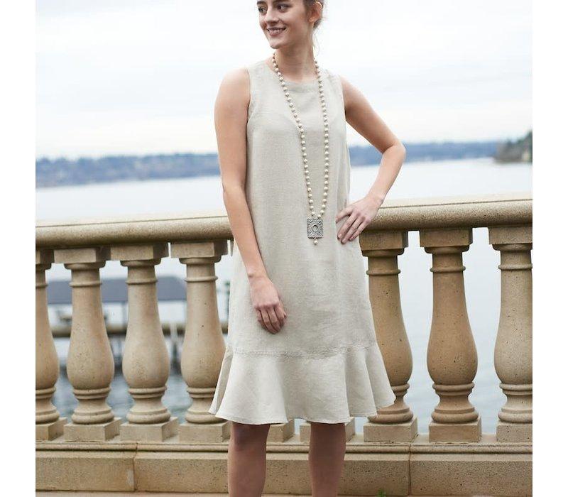 Ellie Dress Flax - M
