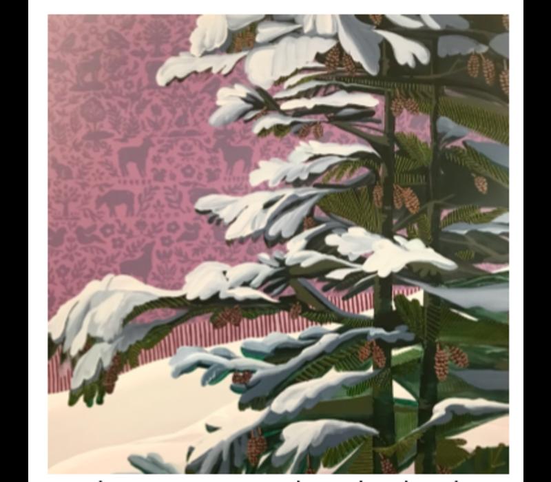 Purple Forest Pine - 48x48