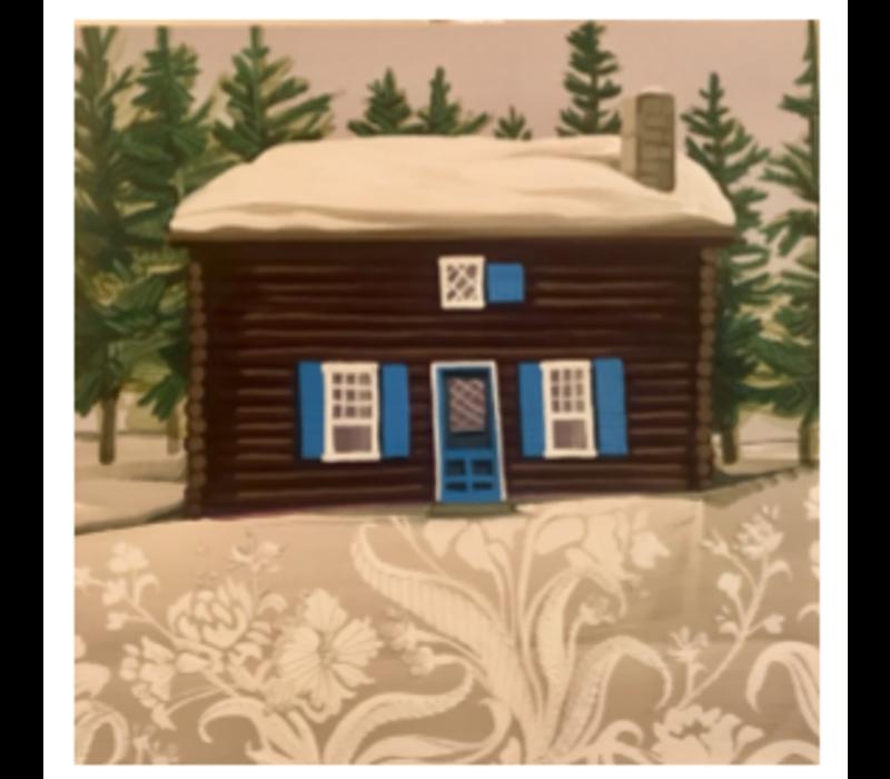 A Cabin in Banff 24x24